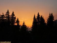 Sonnenuntergang im Valüllatal mit Blick zur Zimba