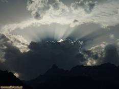 Wolkenstimmung über der Zimba